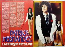PATRICK HERNANDEZ =>  COUPURE DE PRESSE 2 pages HIT 1979