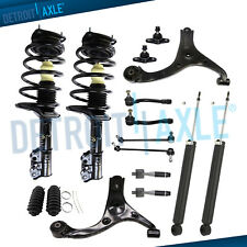 16pc Front Struts Rear Shock Lower Control Arm Kit for 06-11 Hyundai Accent FWD
