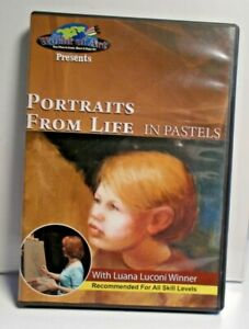PORTRAITS FOR LIFE IN PASTELS with Luana Luconi Winner  all Skill Levels