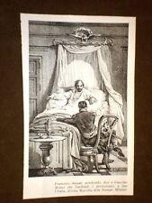 Francesco Anzani moribondo dice a Giacomo Medici che Garibaldi farà l'Italia
