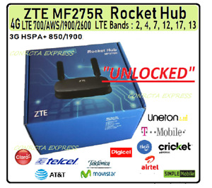 4G LTE  ZTE MF275 / MF279 Wireless Rrouter UNLOCKED