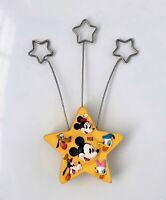 Disney Hallmark Mickey Mouse Yellow Star Photo Holder Note Balloon 1928 2001