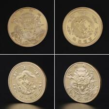 Commemorative Coin Dragon Chinese Style Carved Home Decoration Souvenir Coins