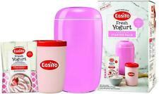 EasiYo Manual Yogur Fabricante de Arranque p (yogur casero en 8 horas) 1Kg Rosa