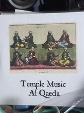 Temple Music/ Al Qaeda Split CDR official OOP