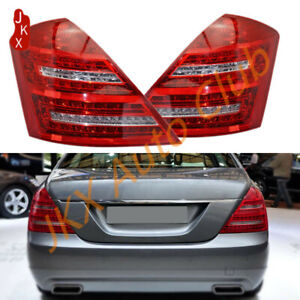 LED Rad Tail Lights Tail Lamps o For Benz W221 S450 S550 S600 S Class 2005-2009