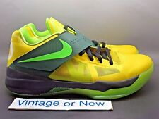 Nike i.D. Zoom KD IV 4 Year of The Dragon Yellow Pine Lime Green Black sz 10.5