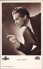 Fritz Wagner - Film Foto Autogramm-AK Starpostkarte  (E-658