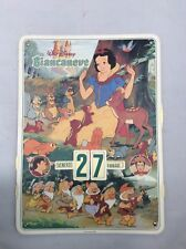 Disney Calendar Snow White Italian 1996 Biancaneve Calendario Italiano
