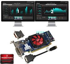 AMD HD6450 1GB Dual Monitors Support OptiPlex Vostro Desktop Video Graphics card