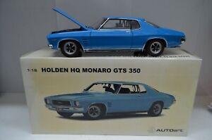 1:18 Holden HQ Monaro GTS 350 in BROOKLANDS BLUE Autoart  Diecast Model