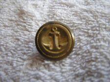 Antique Military Button Anchor