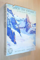 1925 Nice to Evian by Route Des Alpes / French Picture Travel Guide / France