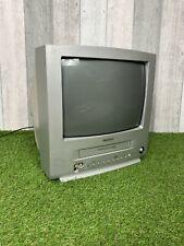 """TV Samsung TI-14P1 14"""" CRT Vhs Vcr Combo Retro Gaming televisión"""