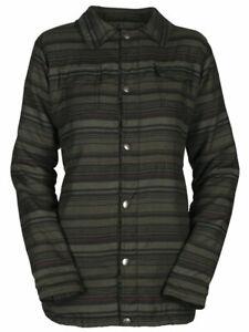 Bonfire Boro Snap-Up Shirt / Jacket, Women's Medium, Black Peyote Stripe New