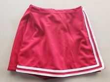 """Red Cheerleader Team Design Uniform Wrap Skirt Skort, Size Womens Xxl, 30"""" - 38"""""""
