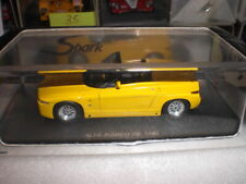 Spark 0398 - Alfa Romeo RZ Spider 1992 yellow  - 1:43 Made in China