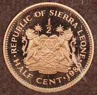 1980 Sierra Leone Coin Proof Set