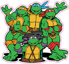 Teenage Mutant Ninja Turtles Removable Wall Sticker Decal 24""