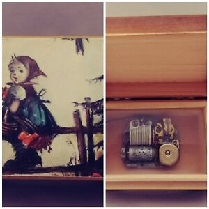REUGE Swiss Music Box w/mvmt Made in Switzerland Plays song from Dr Zhivago