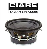 "CIARE CW100Z SINGOLO ALTOPARLANTE WOOFER 10cm 4ohm 100W 4"" CASSE AUTO MADE ITALY"