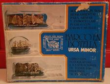 1960 / 70 Bateau Bouteille Barco En Botella URSA MINOR Maquette Navire Marine