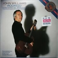 Rodrigo: Concierto de Aranjuez etc. / John Williams / Fremaux / CBS LP D 37848