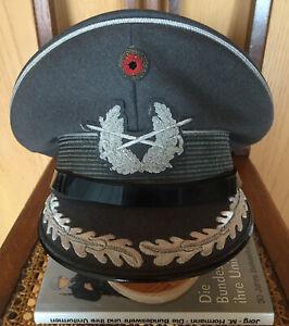 Frühe BW Schirmmütze Stabsoffizier Ovaleform Luftwaffe Bundeswehr Herst.Peküra