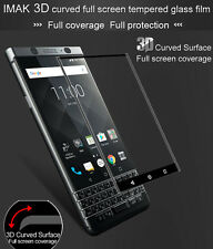 IMAK For BlackBerry KEYone 3D Curved Full Cover Tempered Glass Screen Protector