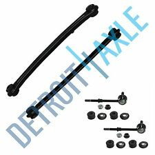 4 pc Kit: New Rear Lower Control Arms + Sway Bar End Links for Hyundai Accent