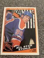 1984 O-Pee-Chee OPC #208 Wayne Gretzky All-Star Edmonton Oilers NM-MT