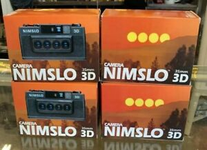 NIMSLO 3D Quadra Lens 35mm Camera & Original Box NEW OLD STOCK NOS MINT