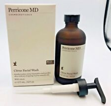 Perricone MD Citrus Facial Wash 6 oz / 177 ml  Rx 2  Correct NIB with pump (210)