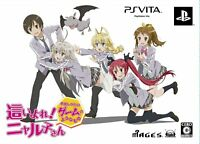 PS Vita Haiyore Nyaruko-San Limited Box Japan Import Game Japanese