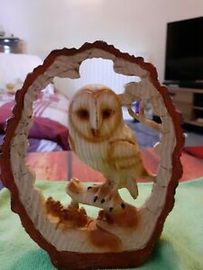 Owl Carved Out Of Wood