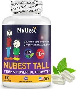 NuBest Tall 10+ Growth Boots Supplement For Chilren 10+ & Teens - Who Drink Milk