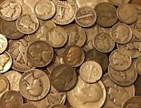 $5 Face Value Lot Of Old US Minted Mixed Silver Coins! No Junk! See Promo!
