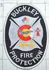 COLORADO, BUCKLEY FIRE PROTECTION DISTRICT RESCUE HAZMAT PATCH