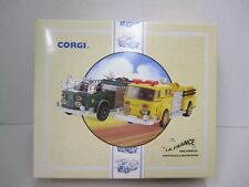 CORGI The LA FRANCE Fire Vehicles -- Scottdale and South River one of only 8,000