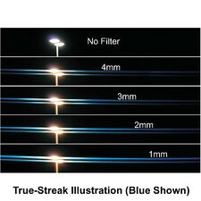 New Schneider 4x5.65 TRUE-STREAK BLUE 3mm Filter Anamorphic Streaks Effect