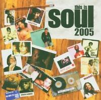 THIS IS SOUL 2005 Various Artists - New & Sealed Modern Soul CD (Soul Brother)