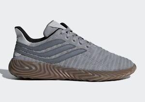 Adidas Sobakov Grey Suede Shoes Grey/Gum D98152 Men's Size 5 NWB