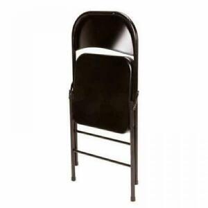 Mainstays 14715BLK4E Folding Chair - Black