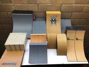 Tech Deck - Assorted Ramps - Finger Boards - Jumps -  Bulk Lot - Good Condition