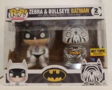 Funko Pop Heroes Zebra & Bullseye Batman 2Pack - Classic Funko Heroes Exclusive!