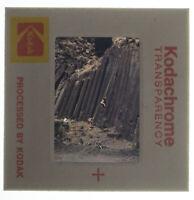 1970's Rock Climbing Road Bike Kodachrome 35mm Slide Vtg Original Stock Photo