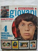RIVISTA GIOVANI N. 14 - 1967 ROLLING STONES NOMADI ADRIANO CELENTANO VIA GLUCK