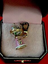 New In Box Juicy Couture PINK BUBBLE GUM MACHINE Charm