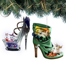 Hawthorn Disney Once Upon a Slipper Nightmare Before Christmas Shoe Ornaments #2