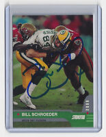 PACKERS Bill Schroeder signed card AUTOGRAPHED 2000 Topps Stadium Club #43 AUTO